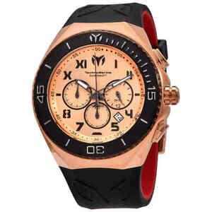 Technomarine Manta Chronograph Rose Dial Men's Watch 215065