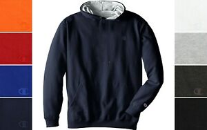 Champion Men's Big & Tall Hooded Sweatshirt Pullover Hoodie Classic C Embroider