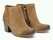 Clarks Block Heel Suede Wide (E) Boots for Women