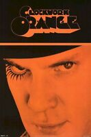 A CLOCKWORK ORANGE ~ ALEX CLOSEUP 24x36 MOVIE POSTER Malcolm McDowell Kubrick