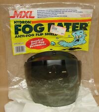 Vtg NOS MXL Hydron Model 500 Anti Fog Tinted Helmet Shield Motorcycle Snowmobile