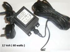 12v  AC  60W Garden Transformer outdoor 12 volts 60 WATTS Power Supply IP68