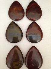 1 35X45mm Tear Drop Tiger Iron Bead/Pendant SALE