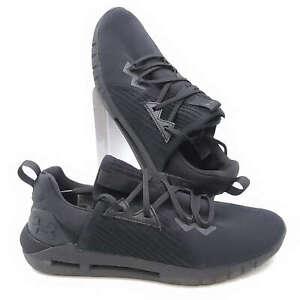 Under Armour Mens Size 10 HOVR SLK EVO Athletic Shoes Black