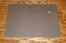 Original 2004 Cadillac XLR Sales Brochure 04
