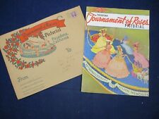 1939 Tournament of Roses Pictorial Golden Memories Shirley Temple w/ Envelope
