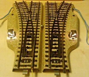 Märklin H0 5202 Electric Pair of Switches M Track Clt