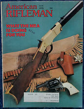 Vintage Magazine American Rifleman, APRIL 1981 !! PARKER-HALE WHITWORTH RIFLE !!