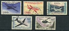 Weeda France C30/C36 VF used 1954-57 Airmail issues CV $51.50