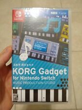 KORG Gadget Music Production Studio for Nintendo Switch - Brand New