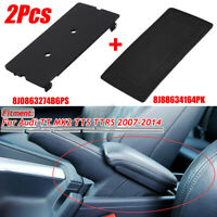 Center Console Cover Plate + Rubber Mat Plate Insert for Audi TT TTS  !! */!