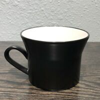 Vintage Mikasa Studio Kraft StudioBlack Single Coffee Cup Mid Century Modern