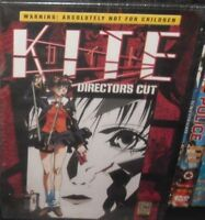 1 DVD EROTIC ANIME EROTICO ACTION SEXY HOT MANGA HARD BOILED-A KITE nikita,girls
