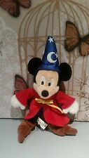DISNEY'S Mickey Mouse Fantasia Apprendista Stregone Peluche Walt Disney World