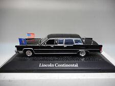 LINCOLN CONTINENTAL PRESIDENTIAL CARS RONALD REAGAN NOREV ATLAS 1:43