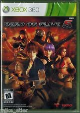 Dead or Alive 5 (Xbox 360, 2012) Factory Sealed