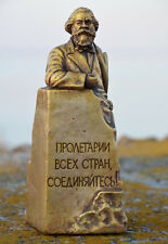 USSR Russian Soviet Lider Germany Communist KARL MARX monument bust H=16 cm.