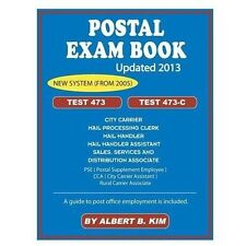 Postal Exam Book: For Test 473 and 473-C (Paperback or Softback)