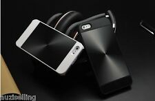 iPhone 5/5S Shiny Aluminium Metal Back Hybrid Case Cover + 1M cable Free