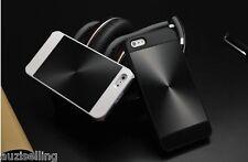 iPhone 5/5S Shiny Aluminium Metal Back Hybrid Case Cover -- iPhone 5 5S
