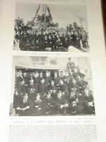 1896 Capitano E Altezza Gamble Ufficiali & Company Di Hms Talbot