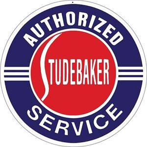 Authorized Studebaker Service Station Gas And Motor Sign