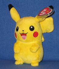 TY PIKACHU POKEMON BEANIE BABY - MINT with MINT TAGS - UK EXCLUSIVE 6 INCH 530a18e24ac6