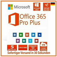 Microsoft Office 365 Professional Plus - Vollversion ✔️ Pro ✔️ 1TB Onedrive