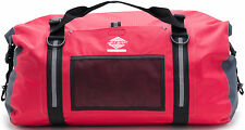Aqua Quest White Water Duffel - 100% Waterproof Dry Bag Duffel Bag - 50 L, Red
