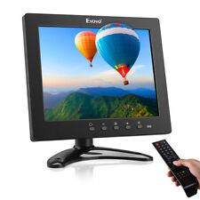 "8"" HDMI Monitor IPS Display w/Remote Control TV 1024*x768 for Raspberry Pi PC TV"