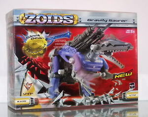 HASBRO EMPIRE ZOIDS GRAVITY SAURER MECHANICAL WIND-UP SPINOSAURID TYPE