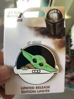 The Child Baby Yoda Disney World Pin 2020 Limited LR Star Wars Mandalorian