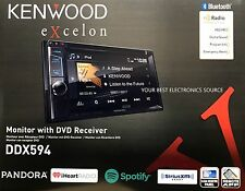 "NEW KENWOOD DDX594 2-Din 6.2"" DVD Receiver with Bluetooth and HD Radio"