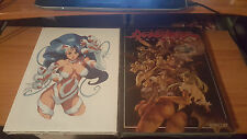 DARKSTALKERS - THE ULTIMATE EDITION HARDCOVER & TRIBUTE LIMITED EDITION NEW udon
