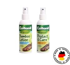 Collonil ORGANIC Leather/Suede/Nubuck KIT Protect & Care + Bamboo Lotion Germany