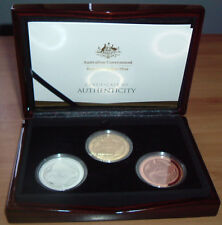 2018  GOLD COAST XXI Commonwealth Games 3 Coin Proof Set