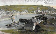 Portpatrick Harbour Queen Margaret Yacht Brownlee Publisher Stranraer postmark