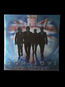 Bon Jovi Wembley 2010 - 2011 Programme THE CIRCLE  Tour Great Condition