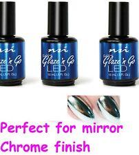 NSI Glaze N Go L.E.D Gel Top Coat  Seals & Protects Nails 15ml NSI GLAZE GO- NEW