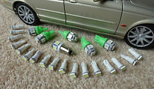 Jaguar XJS Complete Dash Instrument LED Bulb Set Upgrade Green