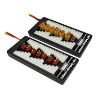 6-in-1 RC 2S-6S Lipo Parallel Charging Board Plate T / XT60 Plug for B6 B6AC B8