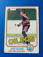 Jari Kurri Rookie 1981-82 #107 Edmonton Oilers O-Pee-Chee Hockey Card