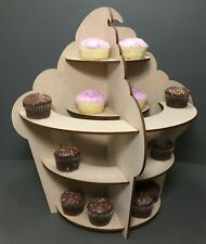 Y49 Candy Cart Cup Cake trolley Sweet tray MDF Wedding Celebrations Donut Wall