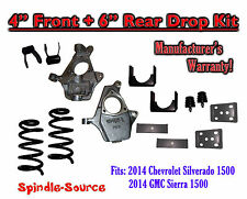 "2014 Chevy Chevrolet Silverado / GMC Sierra 1500 V6 4"" / 6""  Lowering Drop kit"