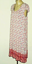 EMERGE ScoopedNeckRedFloralPrintStretch Size14 NWT