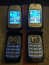 Lot of 2 Nokia 6102B (Cingular/At&T) - Gsm Unlocked
