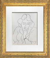 "Henri MATISSE Original LITHOGRAPH ""Lydia"" Limited Ed.w/Archival FRAMING"