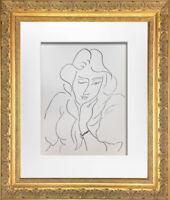 "Henri MATISSE Original LITHOGRAPH ""Lydia"" Limited Ed.w/Archival FRAMING"