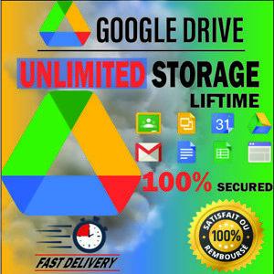 ⭐️GOOGLE DRIVE ⭐️🔥Unlimited Storage Unlimited 100% 🥇Original LIFETIME✅🎁🚀