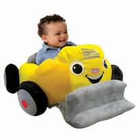 Little Tikes Yellow Car Cozy Coupe Plush Toddler Seat Patrol Activity Baby Chair